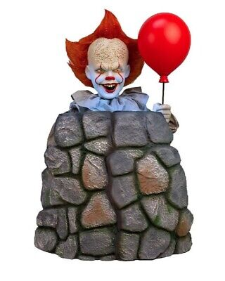 Pre-Order 3 Ft ANIMATED PENNYWISE IT CHAPTER 2 Halloween Prop MOVES UP AND - Halloween Moves