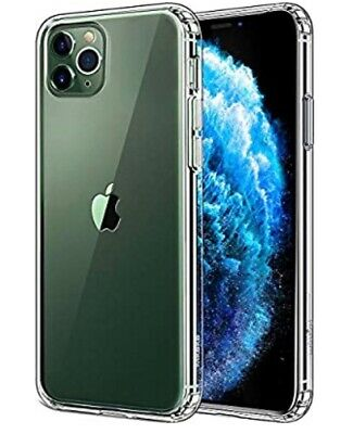 Mkeke Compatible with iPhone 11 Pro Max Case, Clear iPhone 11 Pro Max Cover