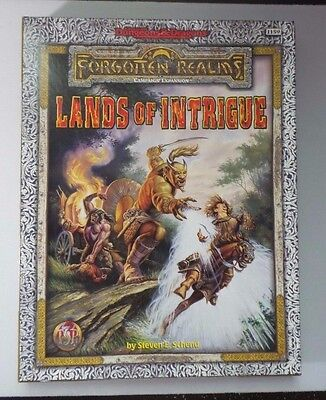 Advanced Dungeons & Dragons Forgotten Realms Lands of Intrigue COMPLETE - NM