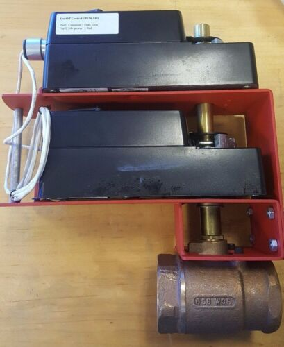 Delta control products 2 way valve with electric spring return actuator DS24-140