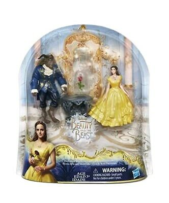 Disney Beauty And The Beast Enchanted Rose Scene Belle Disney Princess Figures