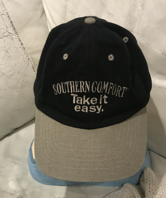SOUTHERN COMFORT WHISKEY WHISKY TAKE IT EASY VINTAGE HAT CAP COURAY SPORTSWEAR