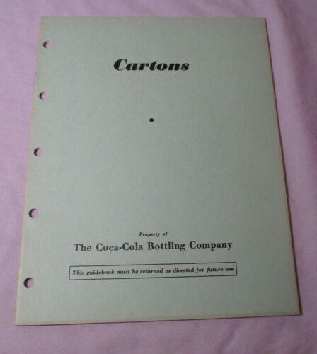 RARE 1940 COCA-COLA EMPLOYEE Marketing Book CARTONS HOMEWARD BOUND Photos 1554