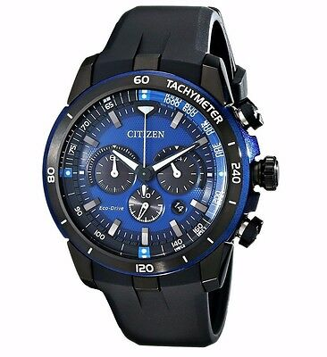Citizen Eco-Drive Men's CA4155-12L Ecosphere Chronograph Poly Strap 48mm Watch