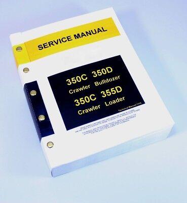 Service Manual For John Deere 350c 355d Crawler Loader Repair Technical Shop