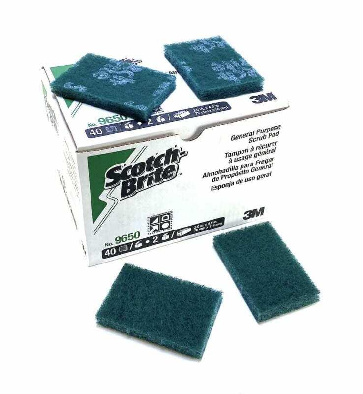 Scotch-Brite 9650 General Purpose Scrub Pad (Box of 40) (NIB)