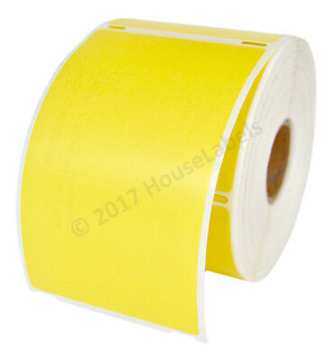 Dymo Lw 30256 Yellow - Six 6 Rolls Of 300 - Large Shipping Labels - Fast Ship
