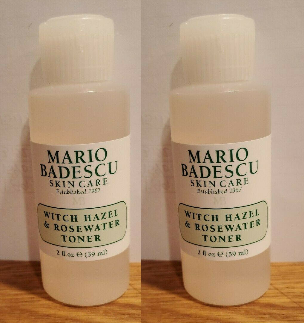 witch hazel and rosewater toner 2 oz