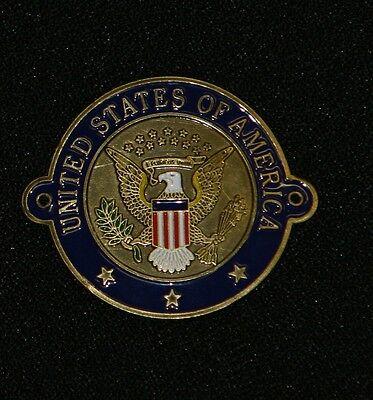 United States Seal US walking Hiking Medallion NEW Goes On Staff