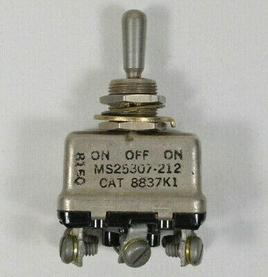 Vtg Environmentally Sealed Positive Action On Off Toggle Switch Aircraft Supply