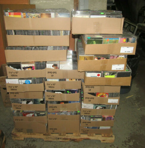 NEW LOT OF 1000 CD