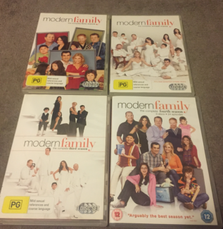 Modern Family : Season 1-4 (DVD, 2013, 14-Disc Set)
