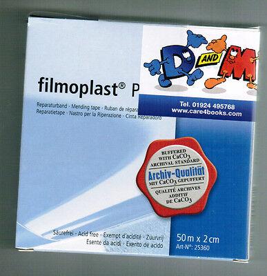 FILMOPLAST P - transparent archival book repair tape