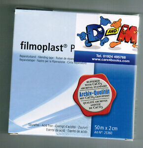 FILMOPLAST-P-transparent-archival-book-repair-tape