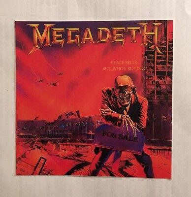 Наклейки и рисунки Megadeth Sticker -