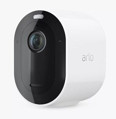Arlo Pro 3 Wireless Add-On 2K HDR Indoor Outdoor Security Camera White C Grade