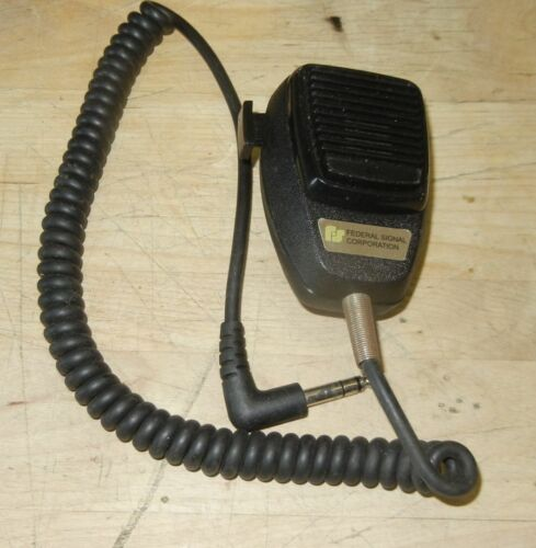 Federal Signal MNCT-SB Noise Canceling Two-Way Radio Mic for UNITROL TOUCHMASTER