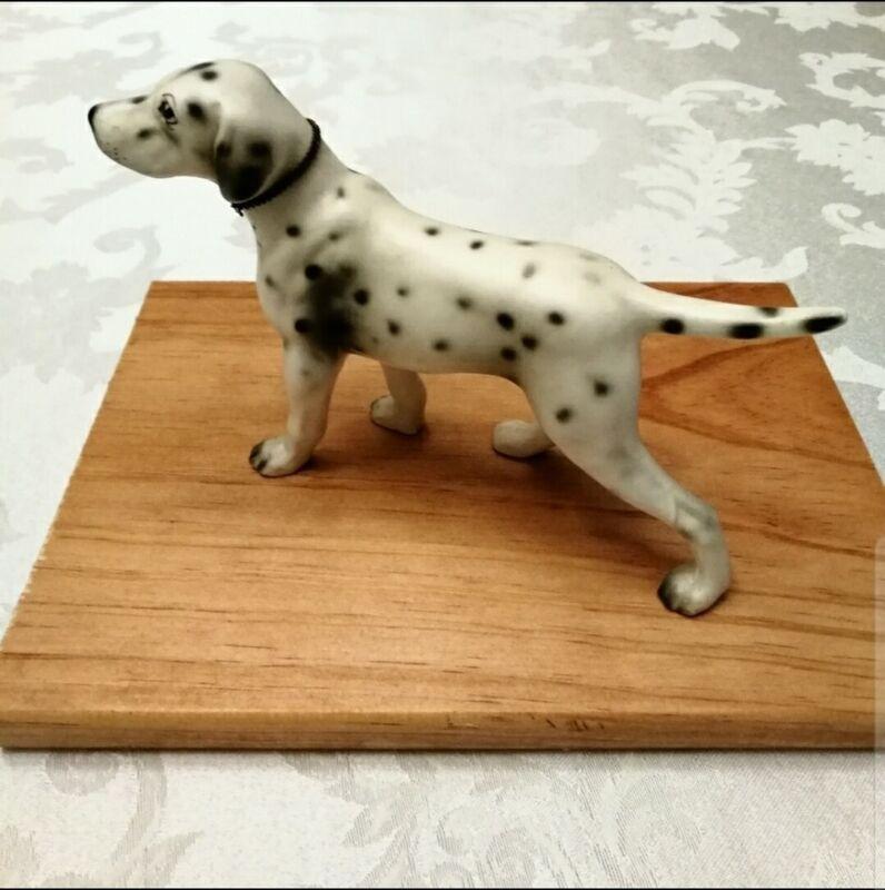Vintage Porcelain Dalmation Figurine