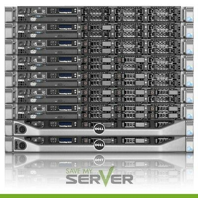 Premium Dell PowerEdge R610 Server | 2x2.53GHz 12-Cores | 16GB RAM + (2) Trays