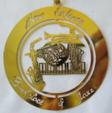 NEW ORLEANS BIRTHPLACE OF JAZZ CHRISTMAS ORNAMENT | eBay
