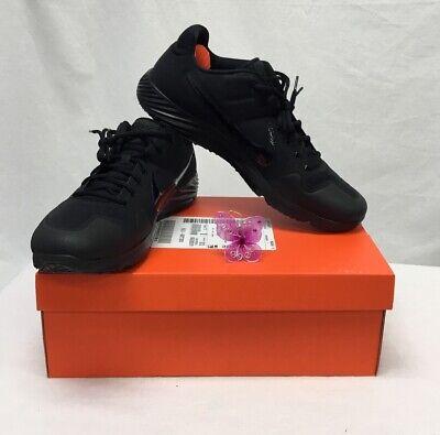 Nike Alpha Huarache Elite 2 Turf Black/Black Softball Shoes NIB Sz 15 A110DM