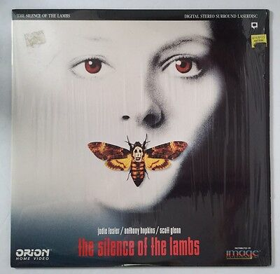 LaserDisc The Silence Of The Lambs Extended Horror Jodie Foster Anthony Hopkins