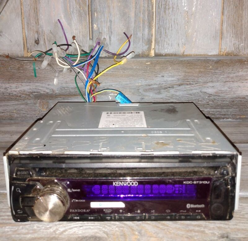 KDC-BT310U kenwood faceplate and stereo tested working