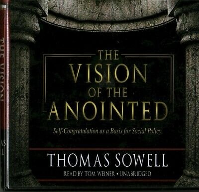 The Vision of the Anointed by Thomas Sowell (2010, CD, Unabridged, 8 Discs)