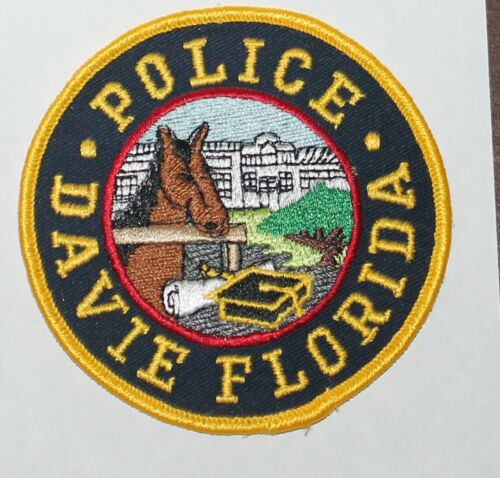 DAVIE POLICE Florida FL FLA PD patch