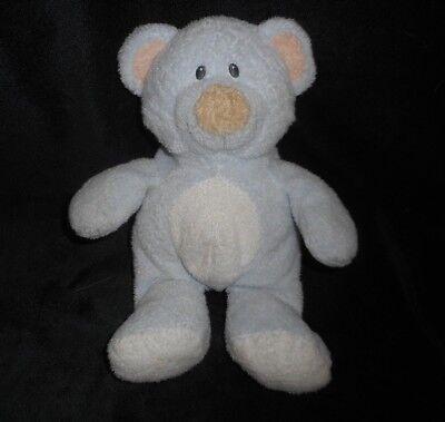Ty Pluffies 2006 Mögen es Baby Blau Teddybär Pfirsich Ohren Plüschtier Plüsch (Baby Pfirsich Plüsch)