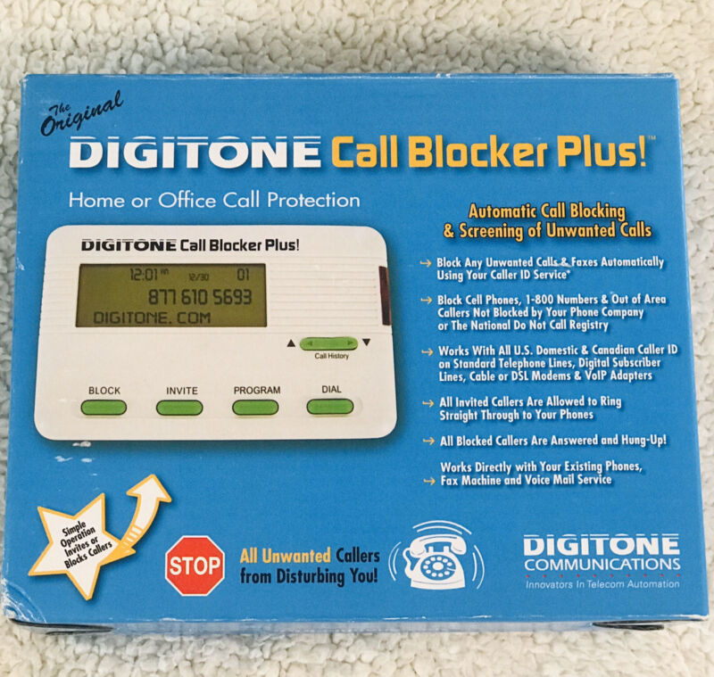 Original Digitone Call Blocker Plus