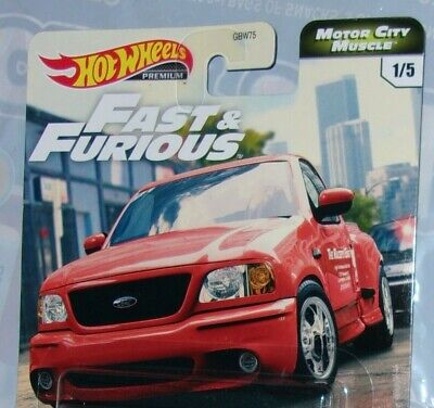 Hot Wheels Premium Fast And Furious Motor City Muscle Ford F-150 Buick PICK