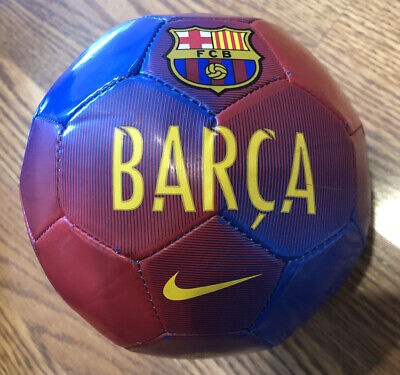 Barcelona Players Signature Pink Soccer Ball Size #2 Messi Signature Ball