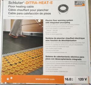Schluter - In Floor Heating - Cable