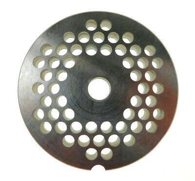 22 X 14 6mm Stainless Meat Grinder Plate For Biro Or Berkel 3 316 Diameter