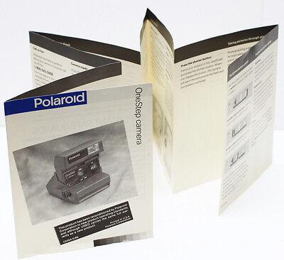 Инструкции и руководства Polaroid OneStep Camera