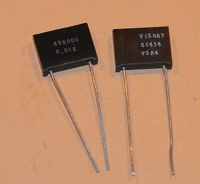Vishay Foil Resistors Vsr4 64 Ohm .01 2pcs