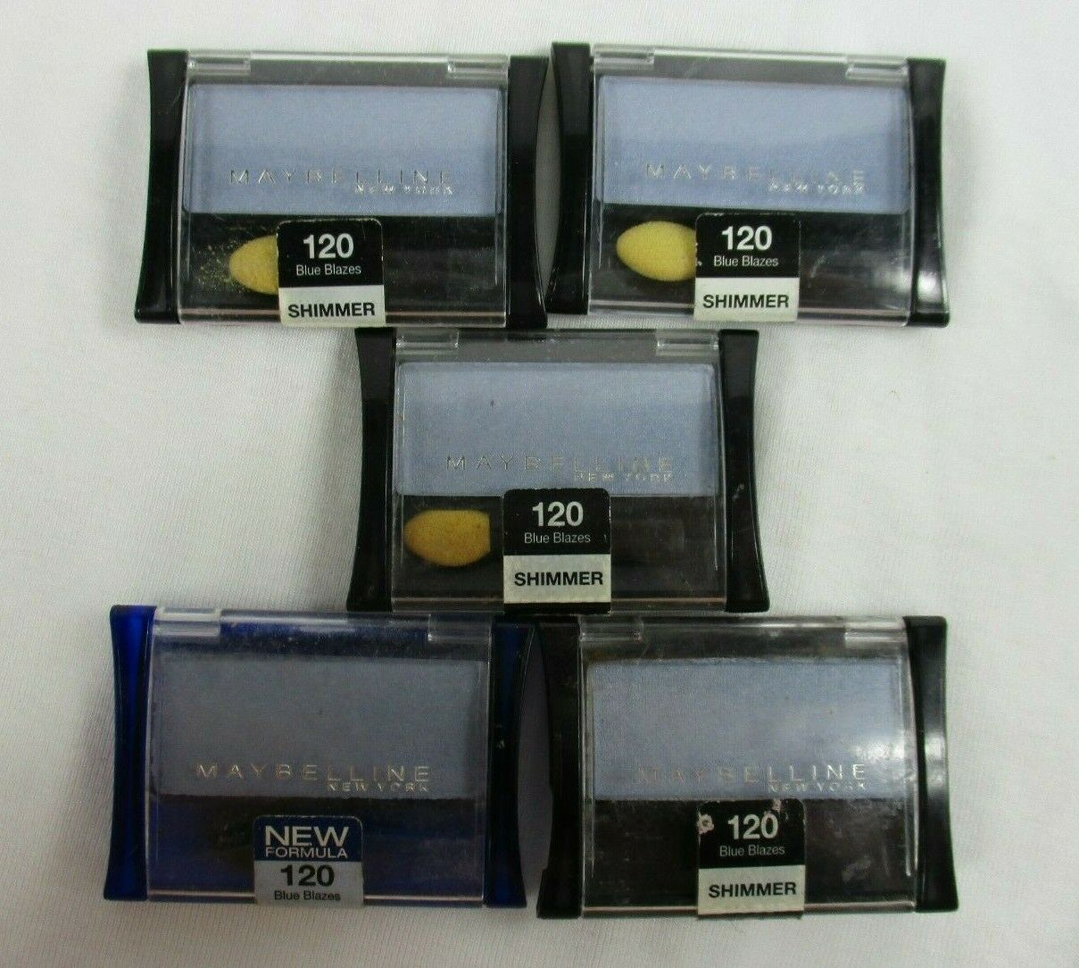 Maybelline New York Expert Wear Eyeshadow Singles, 120 Blue