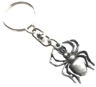 Spinne Handgefertigt IN Solid Englisch Zinn Schlüsselanhänger Hin- KR765