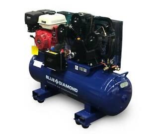 Petrol Air Compressor Piston 15HP 42 CFM 160L 145PSI Laverton North Wyndham Area Preview