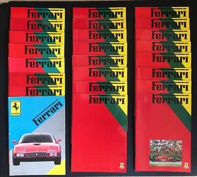 Ferrari Owners Club Magazine Autumn 1988-Autumn 1994 Collection (one Missing)