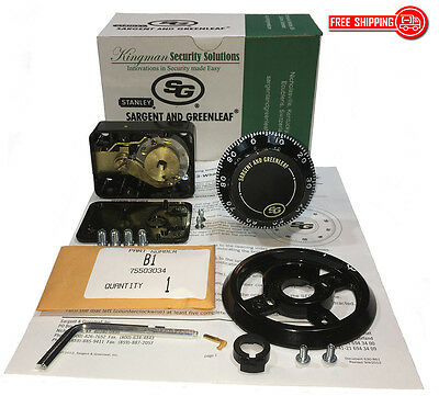 Sg - Sargent And Greenleaf 6730-100 Mechanical Combination Dial Lock Kit -nib