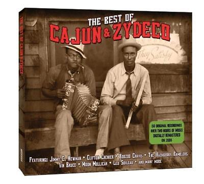 Best of Cajun & Zydeco ~ NEW SEALED 2CD 50 Original Stomps From The Swamps