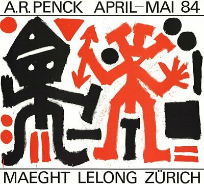 A.R. PENCK Maeght Lelong Zurich 23.75
