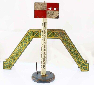 Train echelle O HORNBY PASSERELLE + SIGNAL / jouet ancien antique toy