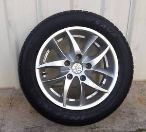 """HOLDEN COMMODORE WHEEL 16"""" ROH BLADE & TYRE 225/50R16 5X120 MM Kallangur Pine Rivers Area Preview"""