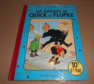 QUICK ET FLUPKE SERIE 10 SOUS CELLO RE Hergé (auteur Tintin & Milou Jo & Zette)