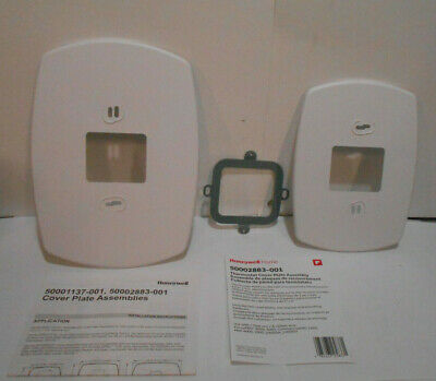 Honeywell Home 50002883-001 Thermostat Wall Mount Cover Plate