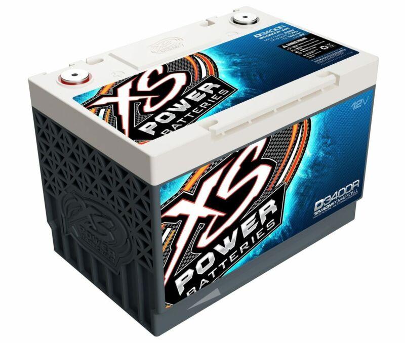 XS Power D3400R 12V 3300A Reverse Polarity AGM Car Audio Battery/Powercell G 34