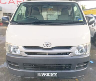 Toyota Hiace Pendle Hill Parramatta Area Preview